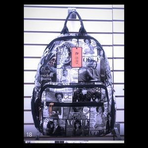 Michelle Obama back pack in two different colors